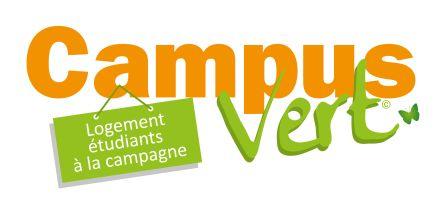 logo logements à la campagne autour des villes universitaires ! le campus vert